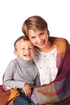 Free Charming Woman With A Son Royalty Free Stock Photos - 17771918