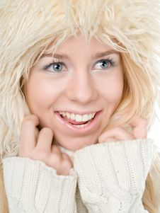 Free Winter Woman Stock Images - 17772964