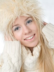 Free Winter Woman Stock Image - 17772981