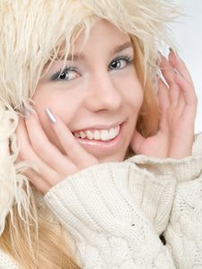 Free Winter Woman Stock Image - 17772991