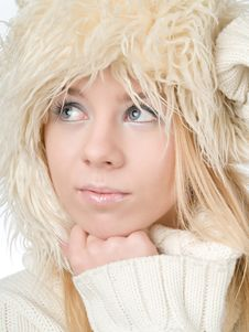 Free Winter Woman Royalty Free Stock Photos - 17773018