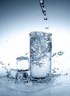 Free Splash Water Royalty Free Stock Photos - 17773858