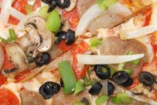 Free Pizza Toppings Royalty Free Stock Image - 17773866