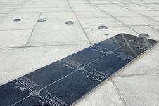 Free Sundial In Alexandria Stock Photo - 17773950