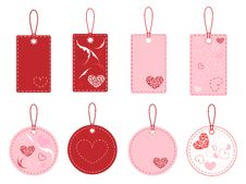 Free Love Tags Royalty Free Stock Photo - 17774395