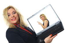 Free Modern Professional Businesswoman Royalty Free Stock Image - 17774736