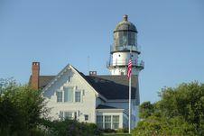 Free Cape Elizabeth Lighthouse Stock Image - 17775261