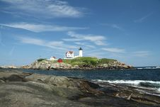 Free Cape Neddick Nubble Stock Photography - 17775412