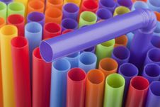 Free Plastic Tubes Royalty Free Stock Image - 17775456