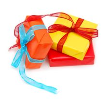 Free Gift Boxs Royalty Free Stock Images - 17775499