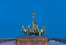 Free Brandbenburger Tor Quadriga Winter Stock Photos - 17775953