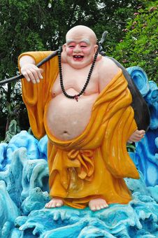 Free Laughing Buddha Royalty Free Stock Image - 17776226