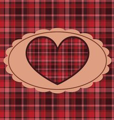Free Retro Valentine Background Royalty Free Stock Photo - 17776245