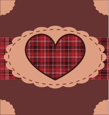 Free Retro Valentine Background Stock Image - 17776291