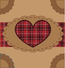 Free Retro Valentine Background Stock Photos - 17776433
