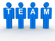 Free Team Concept Royalty Free Stock Photography - 17776997