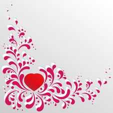 Free Heart And Scrolls Stock Photos - 17777253