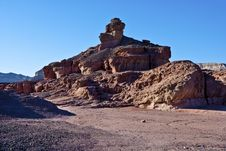 Free Stones Of Geological Park Timna, Israel Stock Photos - 17777483