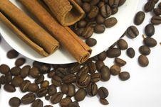Free Coffee And Cinnamon Stock Photography - 17778132