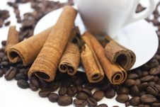 Free Coffee And Cinnamon Stock Images - 17778134