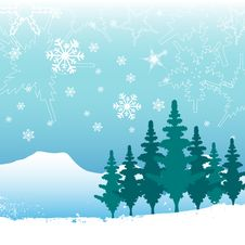 Free Winter Background Royalty Free Stock Photography - 17778767