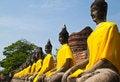 Free Stone Statue Of A Buddha Royalty Free Stock Photos - 17782318