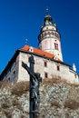 Free Castle Tower In Cesky Krumlov Stock Image - 17783151