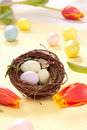 Free Colorful Painted Easter Eggs Stock Photo - 17786810