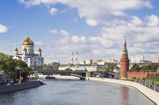 Free The Moskva River Embankment Stock Photography - 17780782