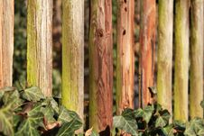 Wooden Fence Structure Royalty Free Stock Photos
