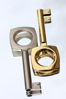 Two Keys Royalty Free Stock Image