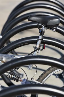 Free Bicycle Rack Royalty Free Stock Photography - 17782037