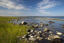 Free A Stony Shore At Bornhom. Denmark Stock Photos - 17782053