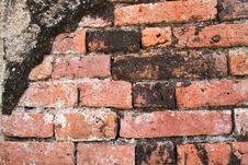 Free Old Brick Wall Royalty Free Stock Photo - 17782505