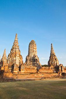 Free Ancient Pagoda Royalty Free Stock Photo - 17782975