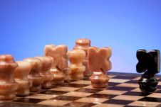 Free Marble Chess Royalty Free Stock Photos - 17783028