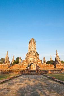 Free Ancient Pagoda Stock Photography - 17783072
