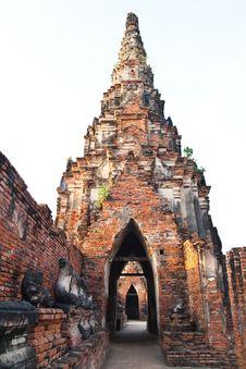 Free Ancient Pagoda Royalty Free Stock Image - 17783136