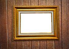 Free Photo Frame On Wood Background Royalty Free Stock Image - 17784456