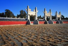 Free Temple Of Heaven ,Beijing,China Royalty Free Stock Images - 17784489