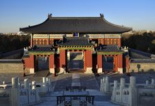 Free Temple Of Heaven ,Beijing,China Stock Photos - 17784653