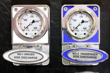 Free Fire Truck Gauges Stock Photo - 17785310