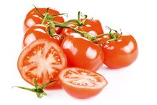 Free Bunch Of Tomatoes Royalty Free Stock Photography - 17785597