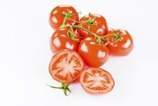 Free Bunch Of Tomatoes Stock Photography - 17785602