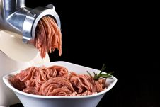 Free Mince And Meat Grinder Royalty Free Stock Photography - 17785747