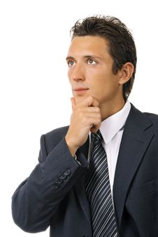 Free Portrait Of A Young Ambitious Businessman Stock Photography - 17786242