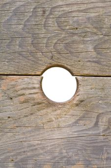 Free Knothole Royalty Free Stock Photography - 17786477