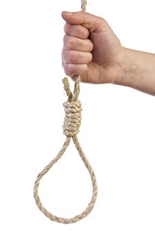 Free Noose In Hand Stock Photos - 17787243