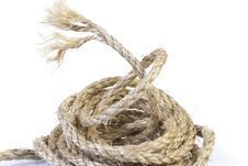 Free Linen Rope Stock Photo - 17787270