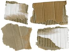 Free Cardboard Pieces, Stock Photography - 17788032